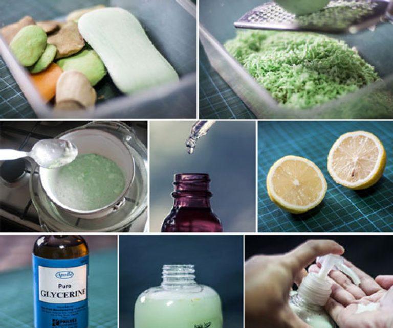 Приготовить мыло в домашних условиях из обмылков 475