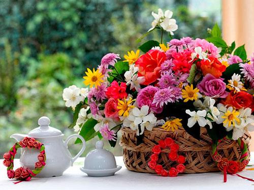 Свадебные торты и цветы из домашней мастики своими руками 24