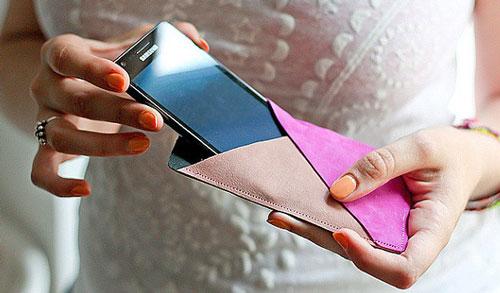 01-134 Как сделать чехол из бумаги своими руками; как делать чехол из картона для телефона