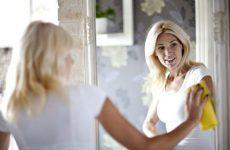 Чистка зеркала без разводов до идеального блеска и чтобы не потело в домашних условиях