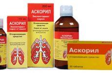Инструкция по применению и дешевые аналоги препарата аскорил для детей и взрослых