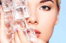 Польза и вред кубиков для лица от морщин