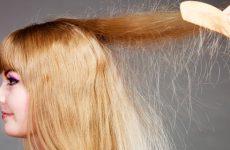 Почему сильно электризуются волосы на голове: причины