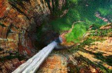 Самый высокий и большой водопад в мире: где расположен и его описание