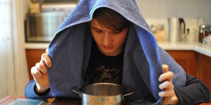 Ингаляция над картошкой при кашле и насморке: как дышать