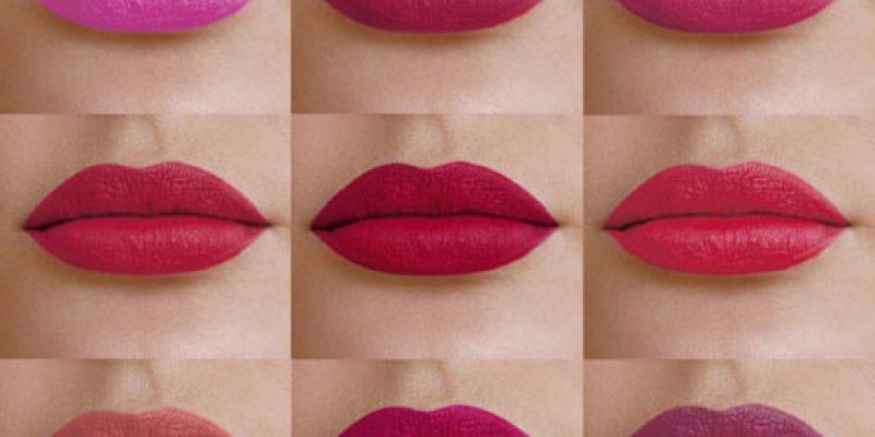 Как красиво и ровно накрасить губы матовой помадой и карандашом