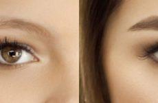 Как оформить брови по полуперманентной и перманентной технологии, как наносить хну и краску?