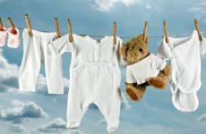 Правила стирки вещей для новорожденного: при скольких градусах, выбор порошка