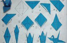 Пошаговая инструкция для начинающих как сделать оригами лебедь из бумаги по модулям, виды моделей