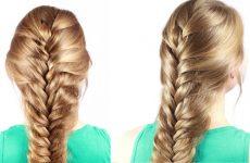 Косичка колосок: схема плетения пошагово самой себе и ребенку