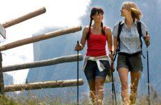 Польза и вред скандинавской ходьбы с палками для похудения