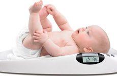 Какая нормальная прибавка в весе у новорождённых?