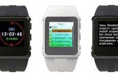 Trick watch (escowatch) умные часы шпаргалка и как ими пользоваться